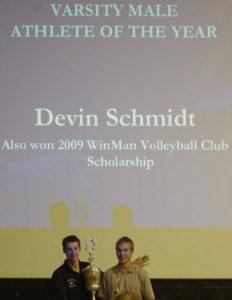 Devin Schmidt 2009
