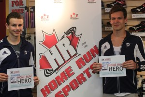 Serge and Zach Community HomeRun Heroes 2015